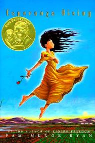 Ryan, P.M.  (2000).  Esperanza Rising.  New York, NY: Scholastic.2002 Pura Belpre Author Award2001 ALA Notable Children's BookInterest Level: 5-8Reading Level: 6.2Genre: Realistic Fiction, Historical FictionSubjects: Mexican Americans, Agricultural laborers, California, Family, Migrants