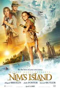 Flackett, J. (Director), Levin, Mark. (Director), Bell, A.E. (Producer). (2008).  Nim's Island. [Motion picture]. United States: 20th Century Fox.Genre: AdventureInterest Level: 3-6Subjects: Islands, Survival, Sea Lions, Iguanas, Sa Turtles, Fathers and daughters, Friendship, Authors, ImaginationLanguage: EnglishSubtitles: English, SpanishRated: PGRunning Time: 96 minutes